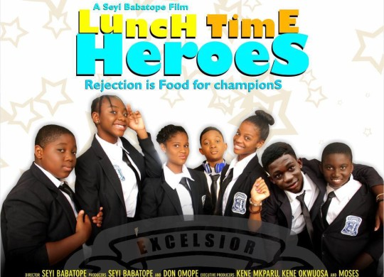 Lunch time heroes 1