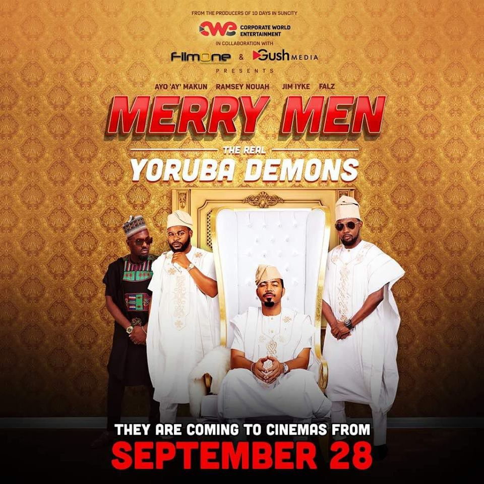 "Merry En: ''Merry Men"" Ft. RMD, Ramsey Nouah, Jim Iyke And Falz"